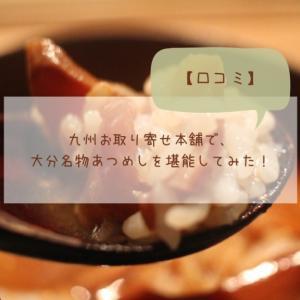 【口コミ】九州お取り寄せ本舗で、大分名物あつめしを堪能してみた!
