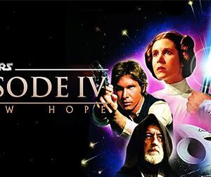 スター・ウォーズ エピソード4/新たなる希望(Episode IV A New Hope) BD/DVDラベルを作ってみた。