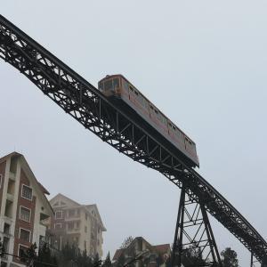 【2020年1月】登山鉄道とロープウェイでベトナム最高峰ファンシーパン山(3143m)に行く