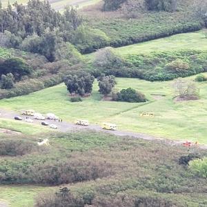 【ハワイ】ディリンガム飛行場で飛行機墜落