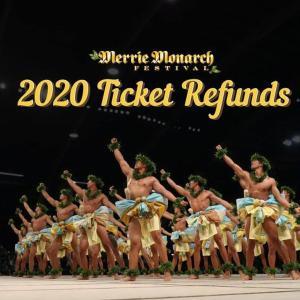 【ハワイ】メリー・モナークのチケット払い戻しスタート!