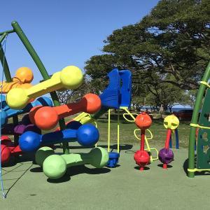 【ハワイ】公園の屋外遊具が利用可能に!