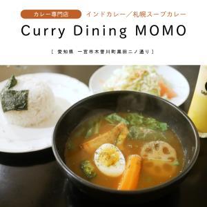 【一宮市】Curry Dining MOMO・カレー専門店で野菜ゴロゴロの札幌スープカレーを堪能!