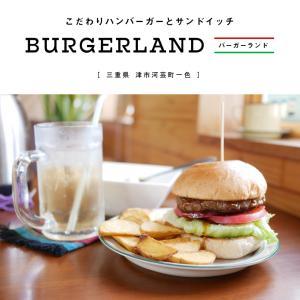 【津市】BURGERLAND(バーガーランド)選べる平日限定ランチセットがお得!テイクアウトOK