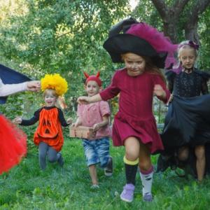 ハロウィン の3 歳児用の 製作は???