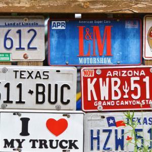 オリジナルのアメリカンナンバープレート・アルミ看板を作ろう