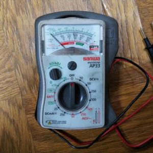 超簡単!電気工作&配線入門書 マルチテスターの使い方