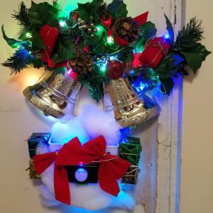 【自作】クリスマス用イルミネーションをセンサーで自動発光させる。