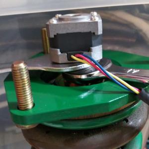 EDFC用 TEIN 車高調整式サスペンション リア側分解