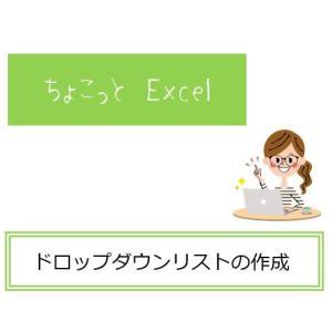 Excelの便利な機能の紹介 ドロップダウンリスト