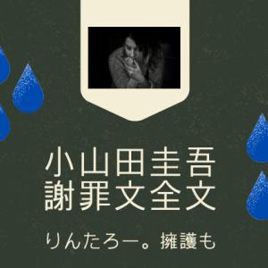 小山田圭吾【謝罪文全文】オリンピック辞退せず。なぜ?りんたろー。が擁護