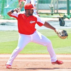 ホセ・ピレラ◆一塁での起用浮上 高コーチ「一塁か左翼と考えている」