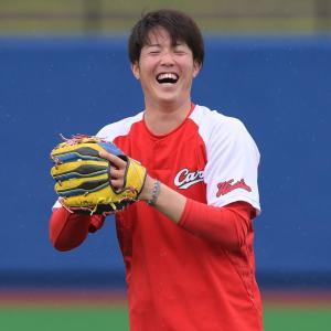 森下暢仁◆「そう簡単に勝ちがつかないのがプロ野球」7回無失点の初登板を振り返る