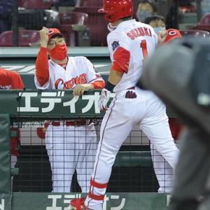 【指揮官一問一答】佐々岡監督◆鈴木誠也の一発を「すごい打球」