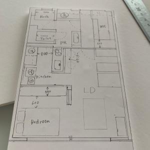 中途半端な住宅模型