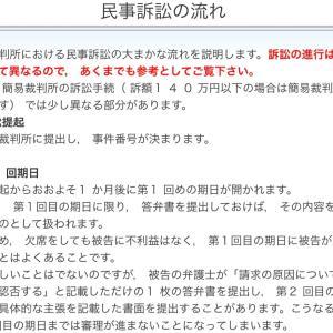 """""""民事訴訟の流れ""""と""""交通事故裁判のプロセス"""""""
