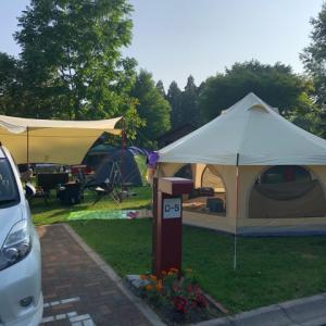 【函館】白石公園はこだてオートキャンプ場でファミリーキャンプ