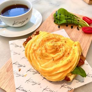 インスタで大人気のカフェでチョット贅沢な日曜日の朝食