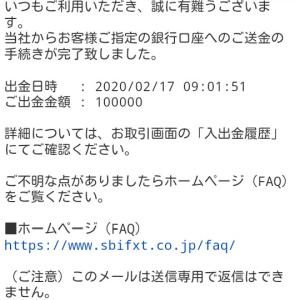 FXは10万円での運用に