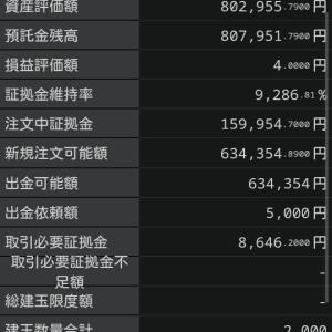 円安ドル高、順調で5000円出金