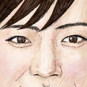 「綾瀬はるか」さんを描いてみました!