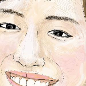 綾瀬はるかさんを描いてみた!