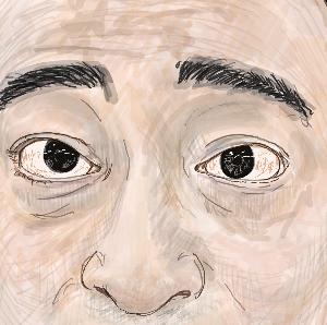 ジャンポケ「斎藤」さんを描いてみました!