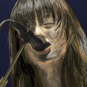 マリーゴールドを歌うあいみょんさんを描いてみた!