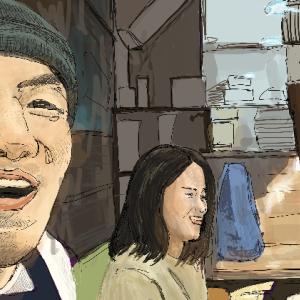 格闘家「矢地祐介」さんを描いてみた!