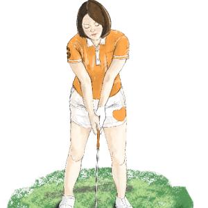 若者世代にも人気が出てきた「ゴルフ」を描いてみた!