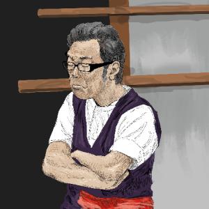 東京03「新オフィス」の一場面を描いてみた!