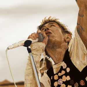 ONE OK ROCK「Renegades」のワンシーンを描いてみた!