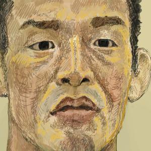 「大塚隆史」選手を描いてみた!