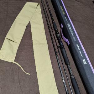 釣り竿 モバイル3の竿