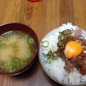 鯵丼(アジどん)食べた〜い。
