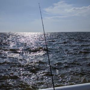釣行:大阪 南港海釣り公園  雷が…