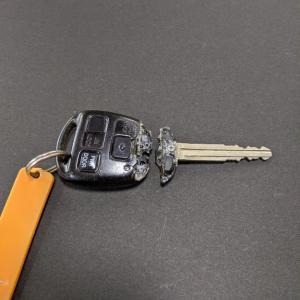 また、車の鍵が…  ホームセンターにGO!