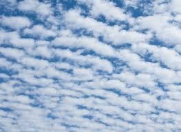 地震雲を見た日。