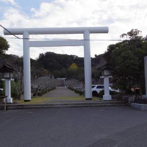 日本三大金運神社、安房神社に参拝