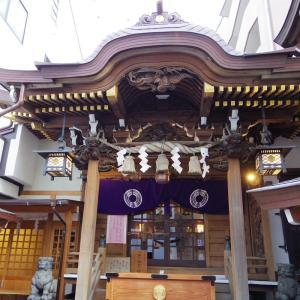 天赦日+一粒万倍日+甲子の日。小網神社に早朝参拝。