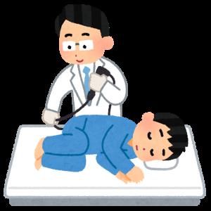 下血と大腸内視鏡検査。