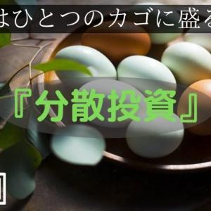 【投資法】卵はひとつのカゴに盛るな!資産を分ける『分散投資』