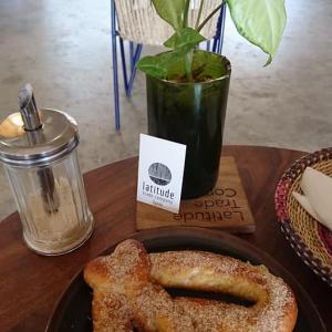 今日のカフェタイムはドーナッツ♪