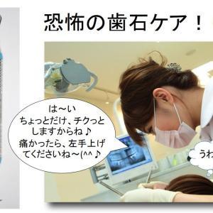 歯科治療より痛い歯石ケア(><;)