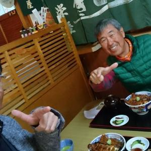 『 鰻どんぶり 』食べに、美濃市の山奥へ