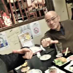 京町家 楽遊 堀川五条 オーナーと会食 ♪