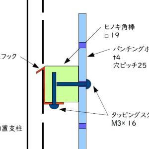 物置 ワークスペース化計画#4(パンチングボード設置)