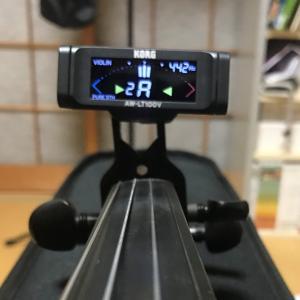 バイオリン 周波数計測結果