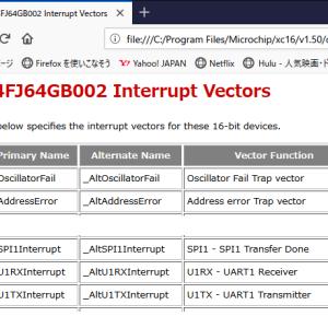 データロガーの改善(ソフト編) PIC24Fの割り込みにはまる