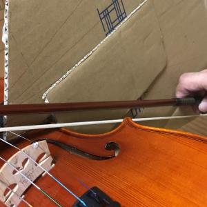 バイオリン ボーイング矯正ツール 使用感